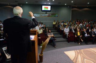 o sucesso das palestras motivacionais