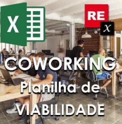 abrir uma empresa de coworking | Planilha de viabilidade