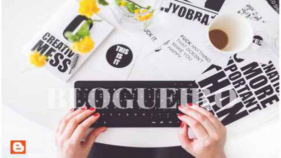produtor de conteúdo ou Blogueiro