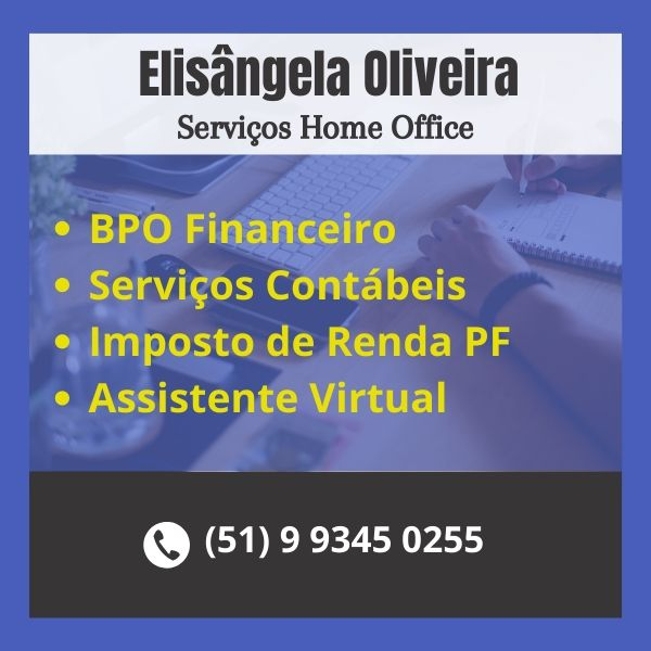 Elisângela Oliveira - Serviços Home office